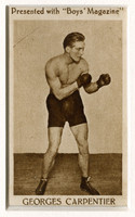 "Carpentier, in ""Boys' Magazine"""