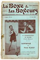 La Boxe et les boxeurs: June 19, 1912 (cover)