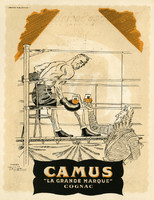 Carpentier Fiftieth Birthday Gala Program: ad for Camus cognac
